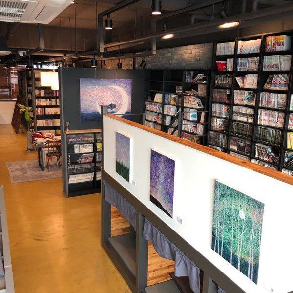 9 카페드도서관 김규비 개인전